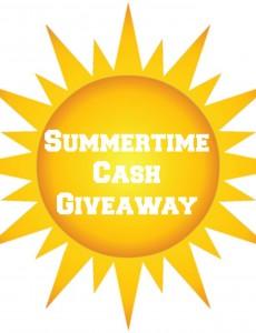 summertime, cash, giveaway, rafflecopter