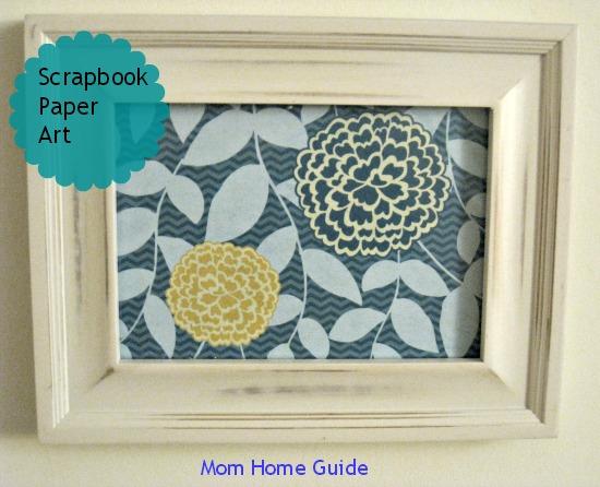frame, scrapbook, paper, art