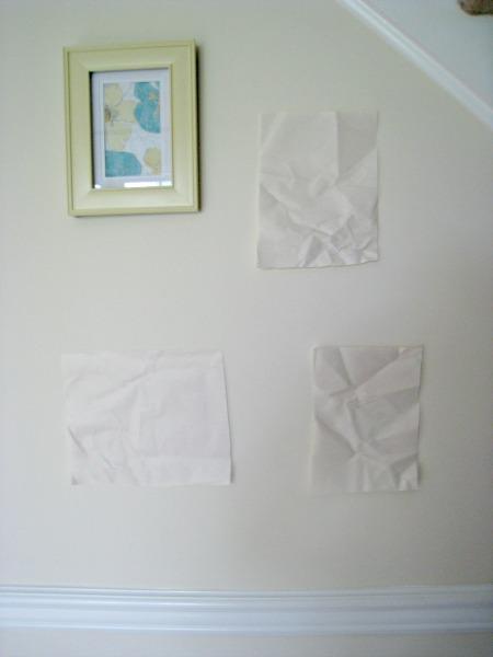 plan, hang, gallery wall
