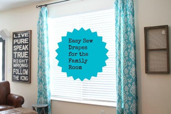 easy, sew, drapes