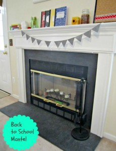 Ask Anna: Budget Back to School Mantel