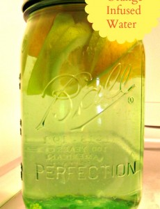 Ball Jar Giveaway and Infused Water Recipe