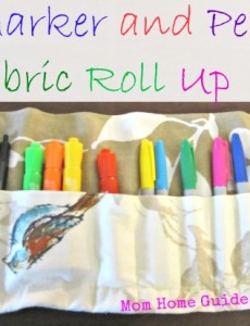 Marker Roll Up Tutorial & Teacher Gift