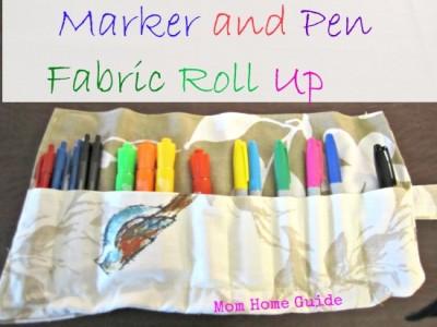 fabric, roll, up, marker, pen, teacher, gift, school