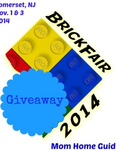 Win 4 NJ Brickfair LEGO Tickets