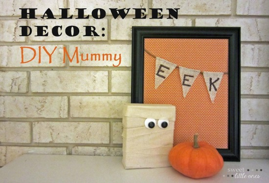 diy, mummy, craft, halloween
