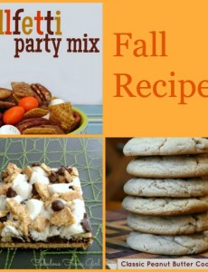 Fantastic Fall Recipes