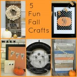 Five Fun Fall Crafts