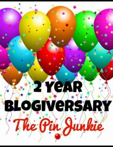 Pin Junkie Blogiversary Party