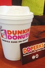 DD Perks, Dunkin Donuts, coffee