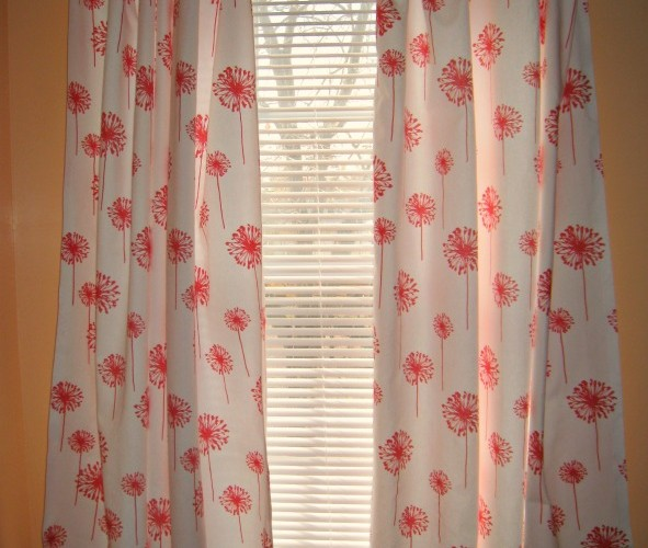 No Sew DIY Curtains