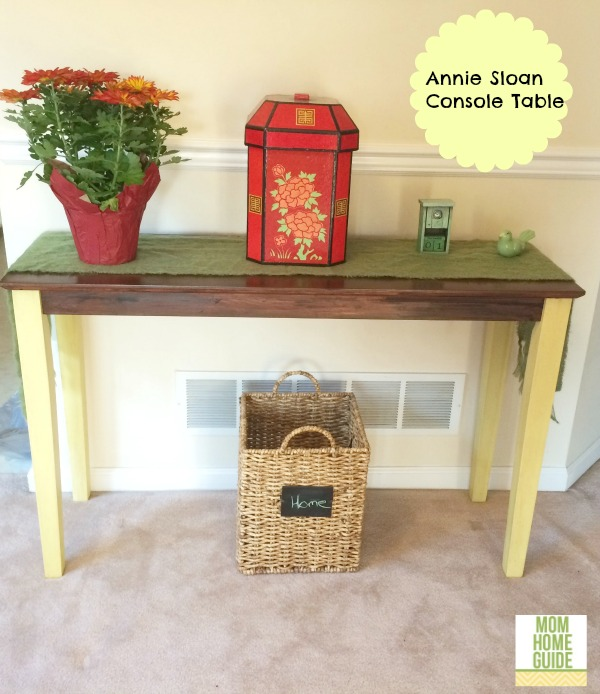 Annie Sloan Chalk Paint Console Table