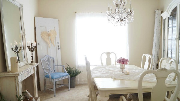 DIY French inspired angel wings