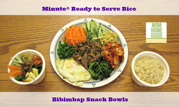 minute ready to serve rice bibimbap snack bowls