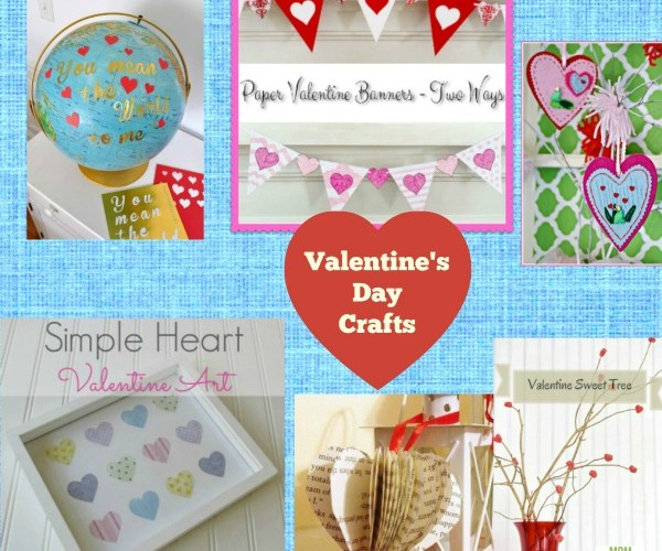 Valentine's Day Crafts for the Home