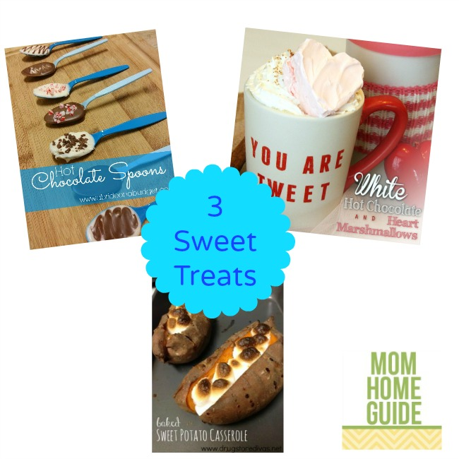 three sweet treats recipes