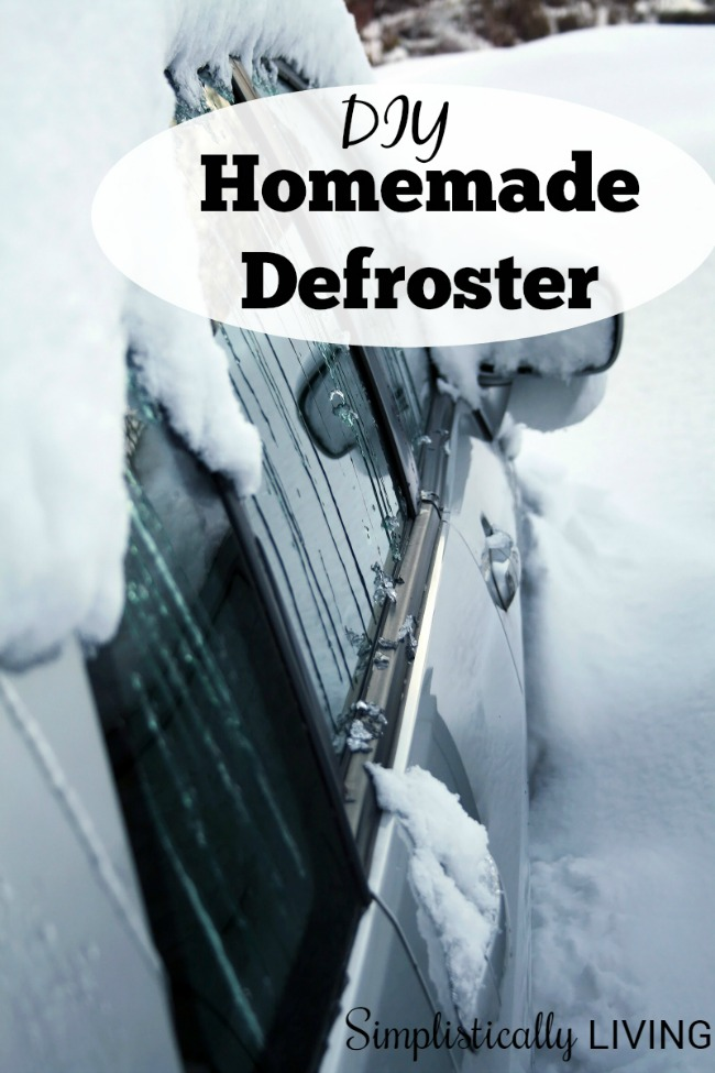 homemade car windshield defroster