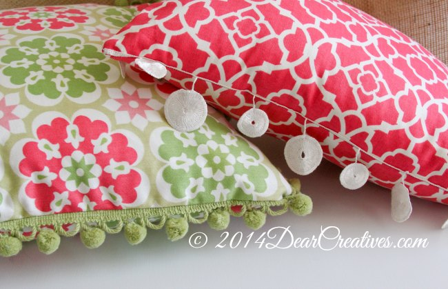 how to sew a throw pillows