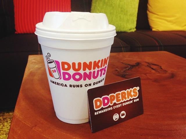 DD Perks, Dunkin Donuts