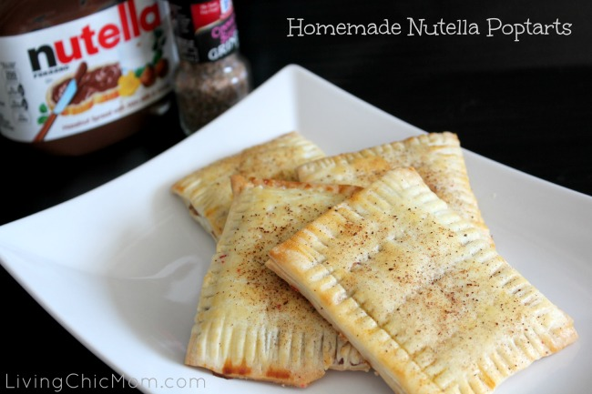 recipe for homemade nutella pop tarts