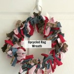 Upcycled Rag Wreath Craft