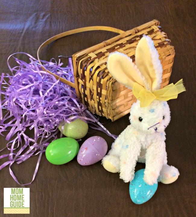 easter basket wreath supplies