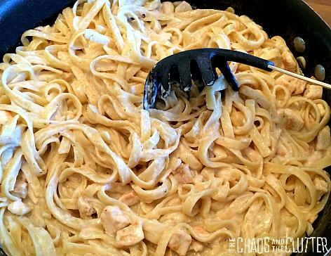 One pot cajun chicken alfredo recipe