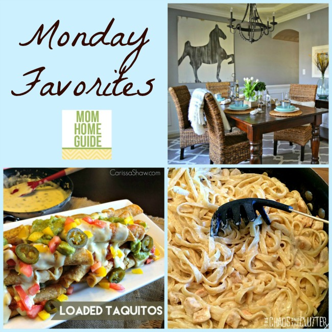 Monday link up party favorites from mom home guide
