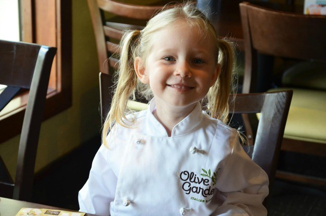 Free Kids Meal from Olive Garden