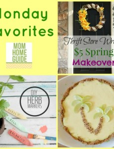 Monday Favorites – Link Party Favorites (May 4)