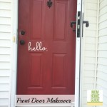 Front Door Makeover with Modern Masters & Giveaway!