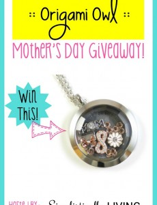 Origami Owl Mother's Day Giveaway!