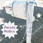 DIY Patriotic Mailbox with VELCRO® Brand One-Wrap