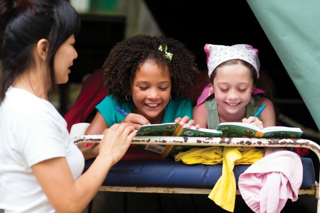 Get Healthy and Go Outdoors with Girl Scouts