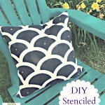 DIY Stenciled Pillows — and GIVEAWAY!