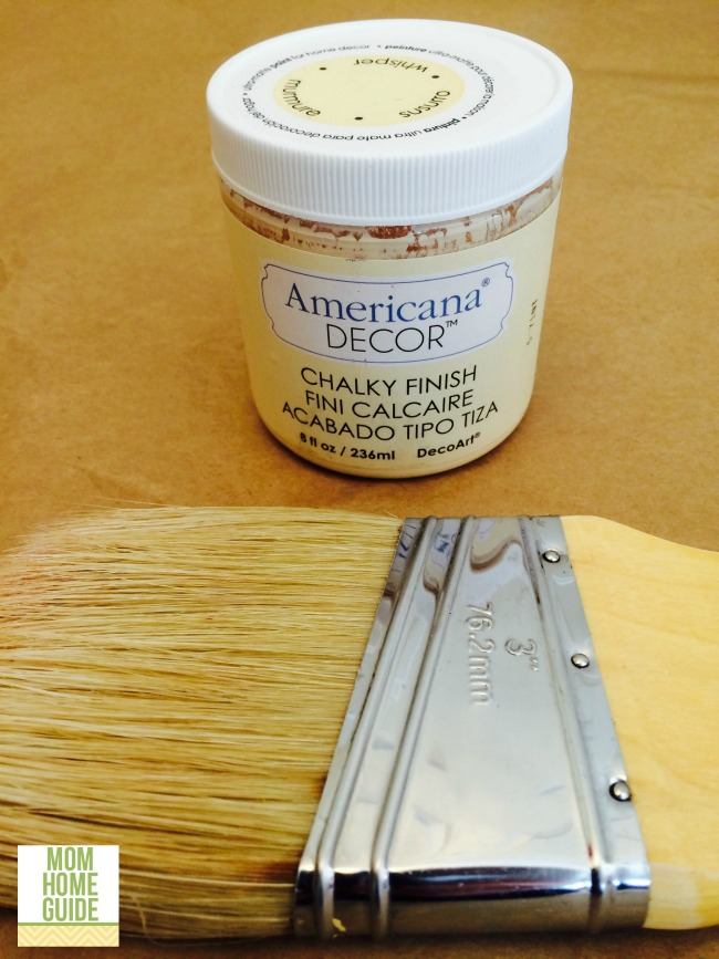 americana decor chalky finish paint in whisper