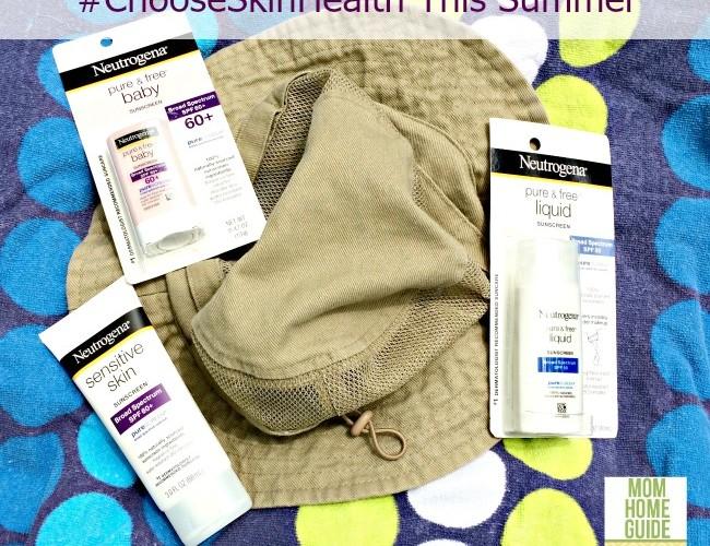 Summer Skin Protection #ChooseSkinHealth