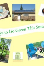 ways to go green this summer