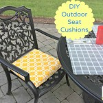 DIY Outdoor Chair Cushions