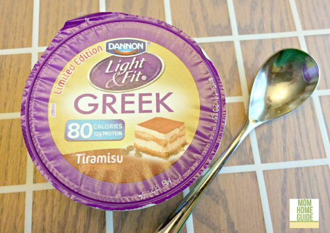 Dannon Light & Fit® Tiramisu Flavored Greek nonfat yogurt