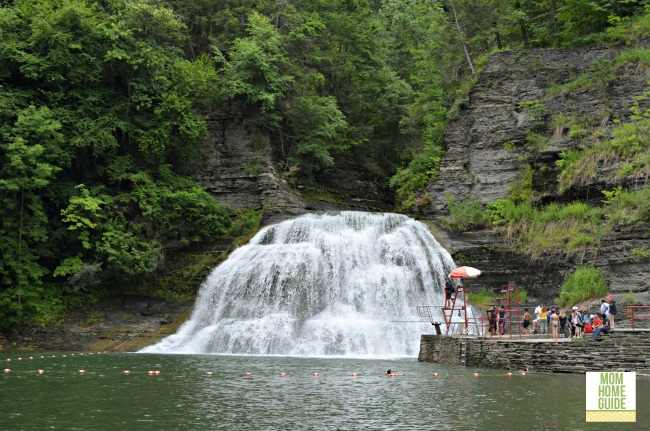 Robert H. Treman swimming hole
