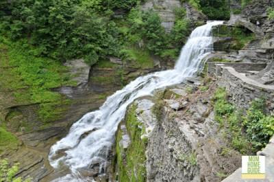 Robert H. Treman waterfalls