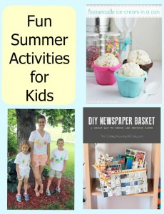 Fun Activities for Summer #craftfrenzyfriday