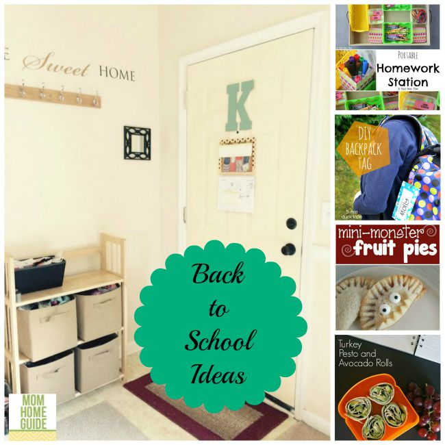 back to school ideas for organizing your school year