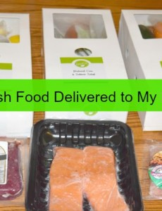 Hello Fresh food delivery service