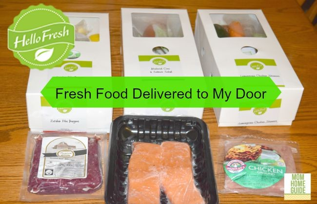 Cooking with Hello Fresh