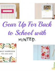 Back to School Gear With Minted