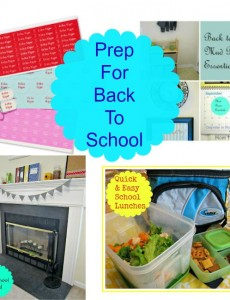 Prep for Back to School & Giveaway