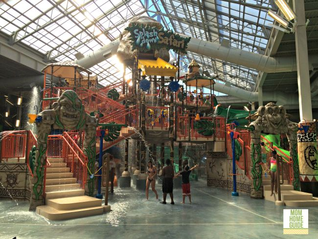 Splash Down Safari at Kalahari indoor water park in the Poconos