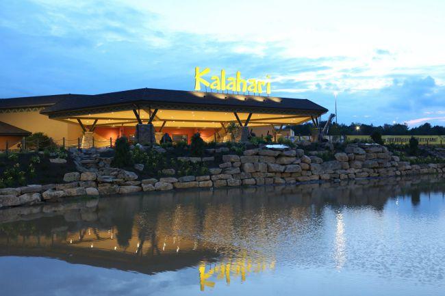 Kalahari is a new Poconos Resort in PA with an indoor waterpark!